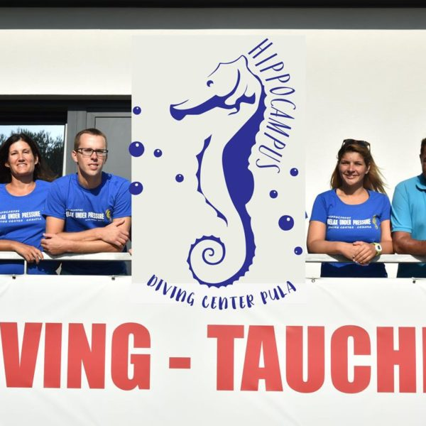 Tauchen in Pula, Kroatien, Europa mit unserem Dream Team Hippocampus Tauchen Center Istrien