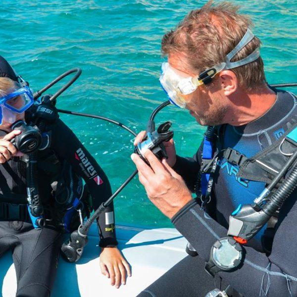 Junior Open Water Kurs Hippocampus Tauchen Center Istrien