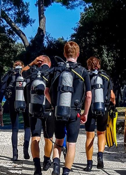 Try Scuba Diving Hippocampus Diving Center Istria