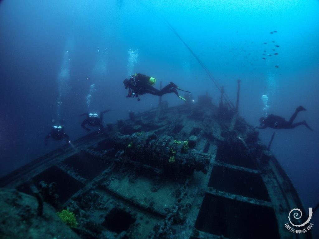 Wreck Dive Croatia Hippocampus Diving Center Istria