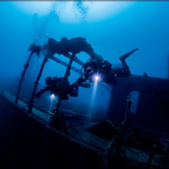 Wreck Dive Hippocampus Diving Center Istria