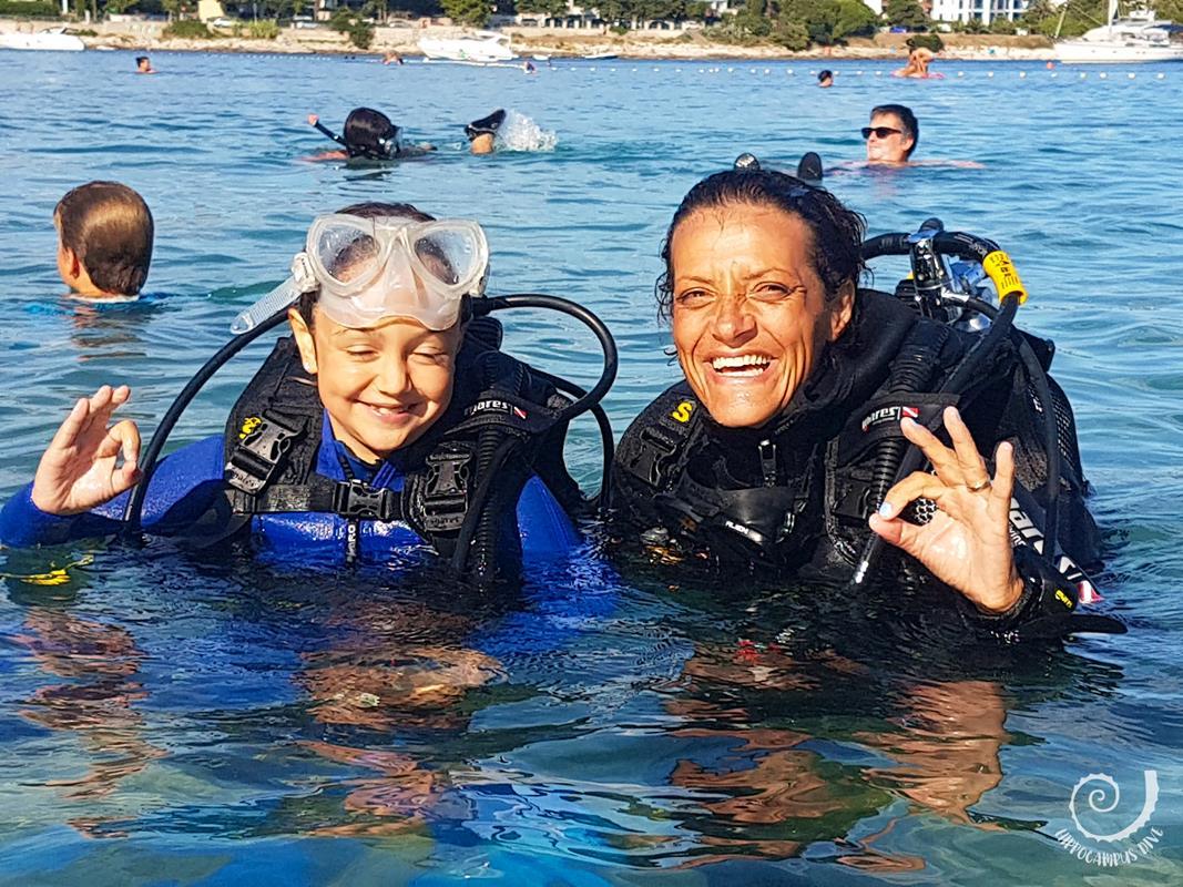 Discover Scuba Diving Hippocampus Centro Subacqueo Istria