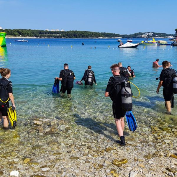 Diving at Stoja Campsite Arenahospitality Group Hippocampus Diving Center Istria