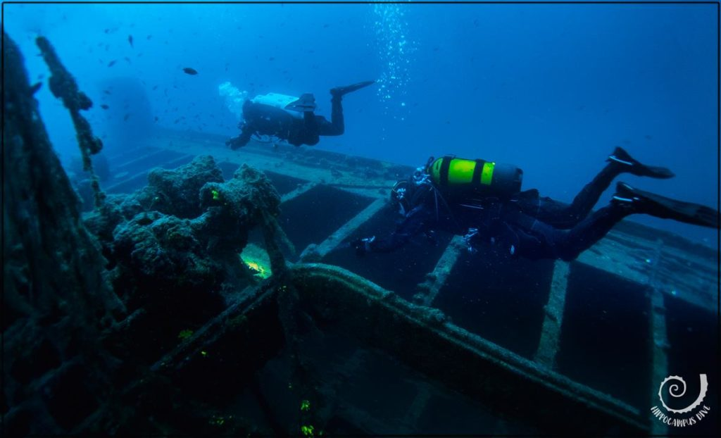 Wreck Dive Varese Hippocampus Diving Center Istria