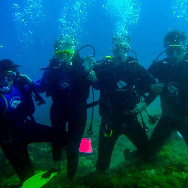 Prvi zaron sa prijateljima, Probno ronjenje nova avantura na godišnjem odmoru Hippocampus Ronilački Centar Istra
